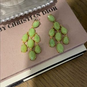 Stella and Dot green earring